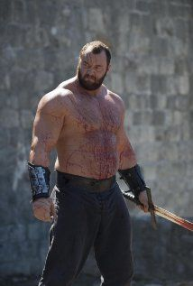 """Gregor """"the Mountain"""" Clegane in season 4. Hafþór Júlíus Björnsson. World's…"""