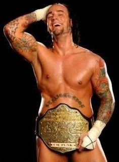 Naked underneath? (CM Punk)