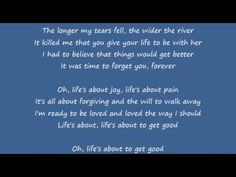 Shania Twain - Life's About To Get Good Lyrics