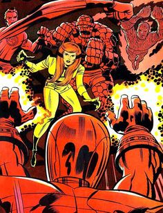 Fantastic Four by Jack Kirby