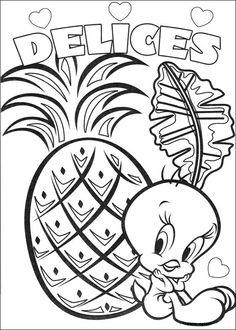 Dibujos para Colorear Silvestre y Piolin 27