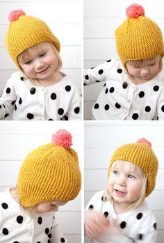Crochet For Kids, Knit Crochet, Crochet Hats, Boys Wear, Baby Knitting, Lana, Knitted Hats, Baby Kids, Winter Hats