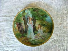 Rare Maxine Runci Springtime Plate by YaYasAttic on Etsy, $80.00