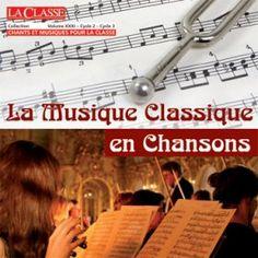 Faites découvrir les grands morceaux de la musique classique à vos élèves en chantant des paroles originales sur des airs célèbres. (Oui, formidable c'est ainsi que j'ai conne l'Ode à la Joie, Nabucco...)