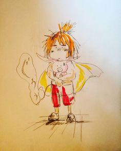 regram @shizukauemura ジムシーだよ #ジムシー  #未来少年コナン #らくがき#アニメ#drowing #drawing #illust #illustration #anime #animejapan