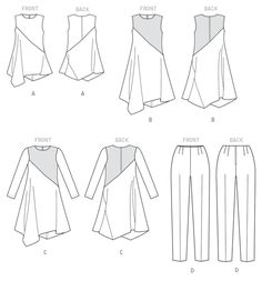 Pattern Reviews> Vogue Patterns> 9107 (Misses' Tunic, Dress and Pants)