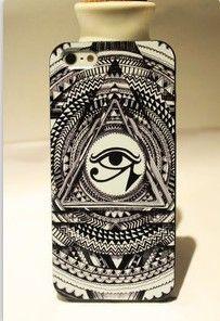 Mysterious Dark Eye Of Horus Illuminati Eye Artwork Hard Case For Iphone Eye Of Horus Illuminati, Eyes Artwork, Cool Iphone Cases, Iphone 4, Retro Watches, Iphone Leather Case, Fashion Jewellery Online, Dark Eyes