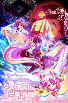 What happens when you take two expert gamers and drop them into a fantasy world where everything is centered around games? You get the smart, beautiful, funny, and just plain all-around enjoyable No Game No Life.