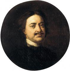 NIKITIN Ivan - Portrait of Peter I. 900 Classic russian paintings