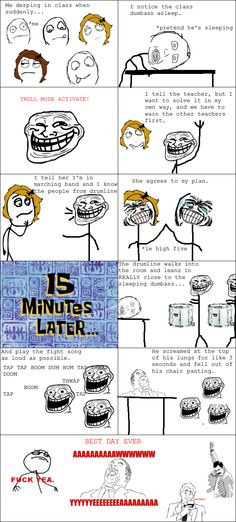 Rage Comics: This actually happened a few hours ago [TRUE STORY]
