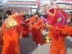 Spring Festival in the year of the tiger; Tianshui, China
