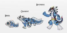 Mud Salamanders by Either-Art on DeviantArt