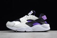 5b708ee58de2 Nike Air Huarache  91 QS Black Purple Punch-White AH8049-001