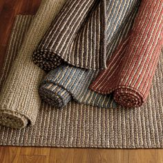 Company store jute and wool rug