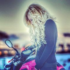 Real Motorcycle Women - yagmur_cbr
