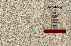 Linen- and terrazzo-look vinyl sheet flooring in aqua and other neutrals - Retro Renovation Retro Vinyl Flooring, Armstrong Vinyl Flooring, Vinyl Sheet Flooring, Terrazzo Flooring, Bathroom Flooring, Kitchen Flooring, Linolium Flooring, Sticky Tile, Guest Bathroom Remodel