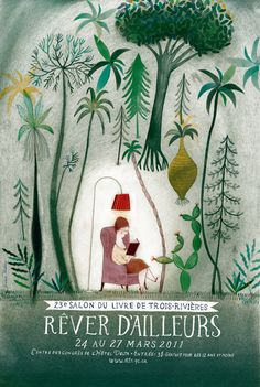 Poster for Salon du livre de Trois-Rivieres