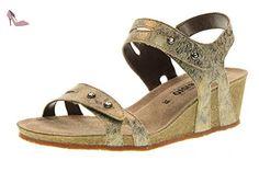MEPHISTO sandales femmes chaussures 17631 MINOA IMPRIMER CAMEL taille 36 Camel - Chaussures mephisto (*Partner-Link)