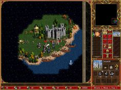 Map screenshot from Heroes of Might and Magic 3 game. Best Computer, Retro Games, Best Games, Gaming, Magic, Good Things, Day, Videogames, Game