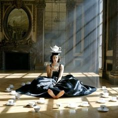 I had a little teaparty. Just I, myself and me...