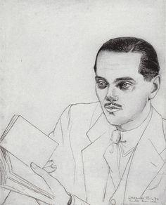 Luis Cernuda, por Gregorio Prieto; 1939