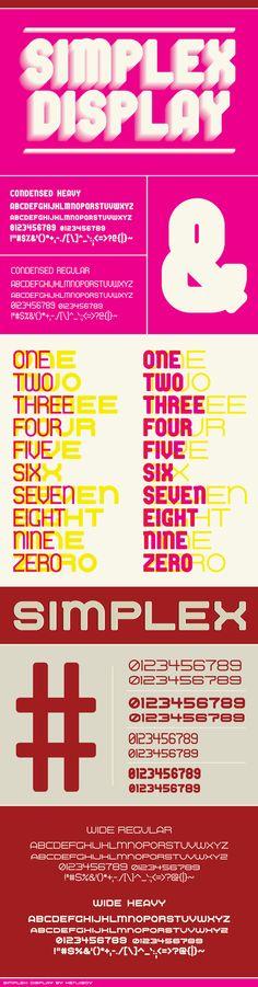 Simplex Display.
