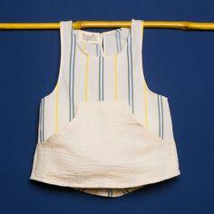 camiseta tirantes rayas Popelin http://www.muxugorri.com/productos/camiseta-tirantes-rayas