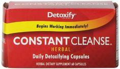 Detoxify LLC Constant Cleanse Capsules, 60 Count