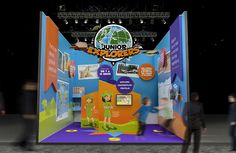 Junior Explorers | stands | experience | by Packaging Brands