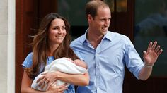 Royal Baby: It's a Boy! Prince William and Kate Middleton leave the hospital with their baby boy.