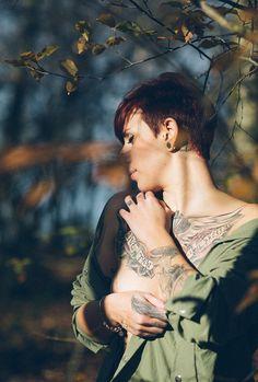 Tattoogirls  #ink #Tattoo #nude #women