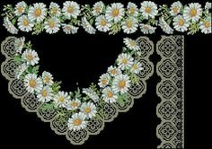 This Pin was discovered by Ays Cross Stitch Borders, Cross Stitch Rose, Cross Stitch Flowers, Cross Stitching, Cross Stitch Patterns, Flower Embroidery Designs, Creative Embroidery, Folk Embroidery, Cross Stitch Embroidery