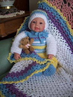 (4) Name: 'Crocheting : Babykids