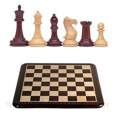 STAUNTON CHESS SET Chess, Retail, Gingham, Sleeve, Retail Merchandising