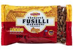 Täysjyvä Fusilli Makaroni 500 g Fusilli, Snack Recipes, Chips, Pineapple, Snack Mix Recipes, Appetizer Recipes, Potato Chip, Potato Chips, Relish Recipes