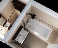 Des bonnes idées et des prix abordables pour des petites salles de bain...