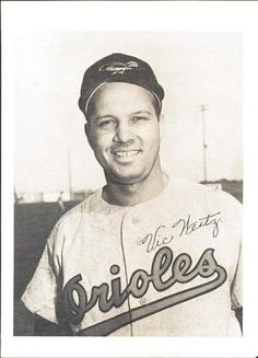 1954 Baltimore Orioles Picture Pack #NNO Vic Wertz Front