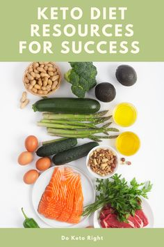 If you want to try Keto, get the resources you need to be successful. Once you know the dos and donts, you are on your way to a slimmer, healthier you! #keto #lowcarb #ketoadvice #ketorecipes
