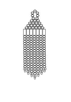 (5) Name: 'Jewelry : Brick stitch blank earring charts