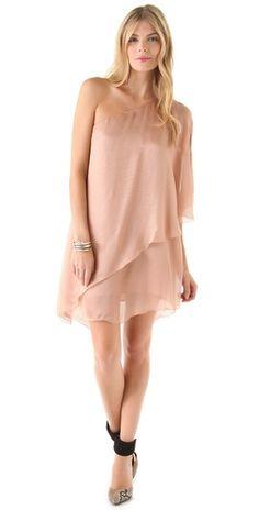 Sheri Bodell Layered Asymmetrical Dress