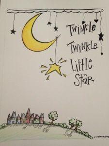 Twinkle twinkle little star- doodle