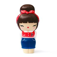 Rockabilly Momiji are handpainted resin message dolls. Turn them upside down.inside every one there's a tiny folded card for your own secret message.All dolls are approx tall. Momiji Doll, Kokeshi Dolls, Blythe Dolls, Rockabilly Pin Up, Rockabilly Fashion, Kawaii Doll, Kawaii Cute, Plastic Shop, Asian Tattoos