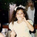 Kim Kardashian As A Child