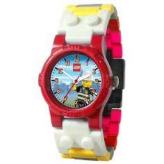 LEGO City Armbanduhr - Feuerwehr  http://www.meinspielzeug24.de/lego-city-armbanduhr-feuerwehr  #Junge #Uhren/Wecker