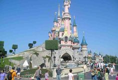 """EuroDisney, outside Paris. Got dragged there by friends. Took a while to realize the French cowboy valet at our hotel, who kept saying, """"Ow DEE,"""" was actually trying to say """"Howdy.""""  I watched the Trailblazers in an NBA final game in the middle of the night, with French commentary. The announcer kept saying """"Cleed le Gleed.""""  It finally dawned on me he was saying """"Clyde the Glide"""" -- Clyde Drexler.  In the park, the popcorn carts looked so American...imagine our surprise when we bought a bag…"""