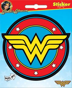 DC Comics Wonder Woman Logo Bumper Sticker Decal
