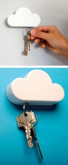 Cloud // Magnetic Key Holder #product_design