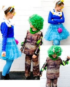 DIY Karnevalskostüme: Schaumbad und Baum    #karneval #fasching #kostüm #DIY waseigenes.com Halloween Kostüm, Halloween Costumes, Punk, Harajuku, Carnival, Recipes, Style, Red Tulle Skirt, White Shirts