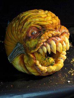 Scariest pumpkin ever?