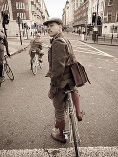 London Tweed Run 06/05/12looking back by Tweed Run, via Flickr